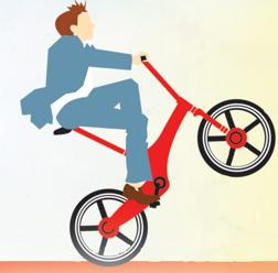 Actieve fietser