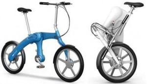 Mandofootloose elektrische design-vouwfiets