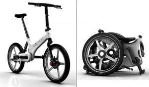 elektrisch powered folding design-bike Gocycle
