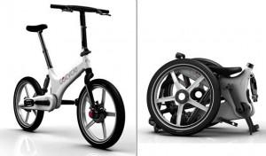elektrisch aangedreven design-vouwfiets Gocycle